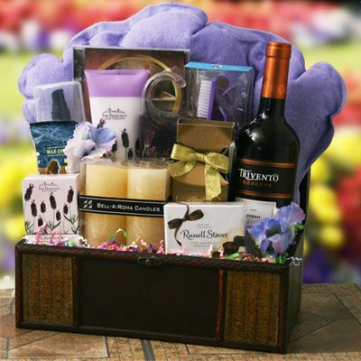 spa gift basket ideas for women