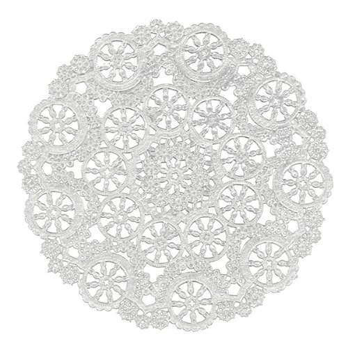round lace paper