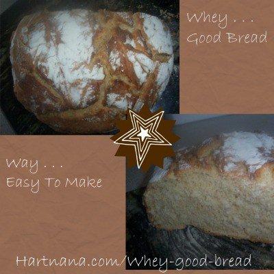 whey good bread recipe
