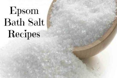 epsom bath salt recipe