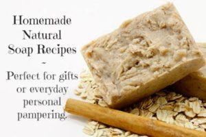 homemade natural soap recipes