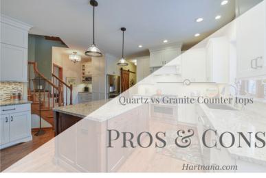 pros and cons of quartz vs granite counter tops
